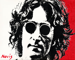 John Lennon New York City art print