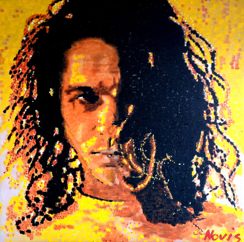Michael Hutchence art print