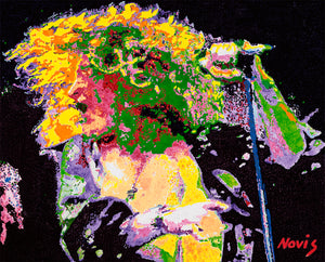 Robert Plant Led Zeppelin art print