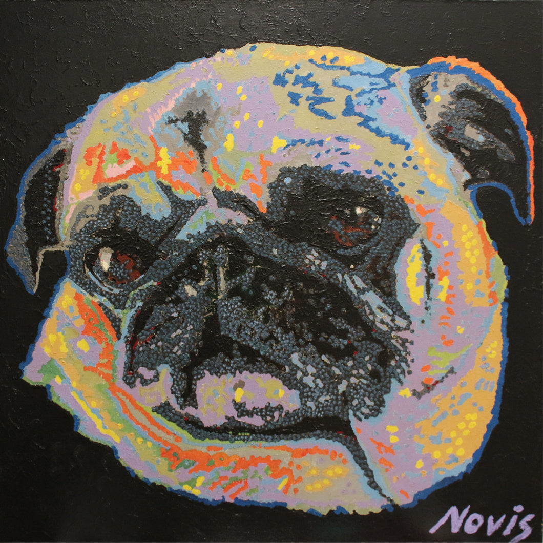 Rosie the Pug art print