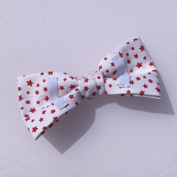 Dog bow tie red stars white background colour.jpg