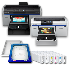 Epson SureColor F2100 and F2000 Direct-to-Garment Ink & Supplies