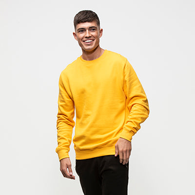 College Crew Neck Sweatshirt