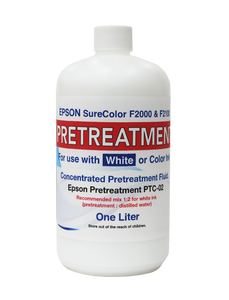 1 liter Epson Pretreatment Fluid for F2100 and F2000 - Equipment Zone Online Store