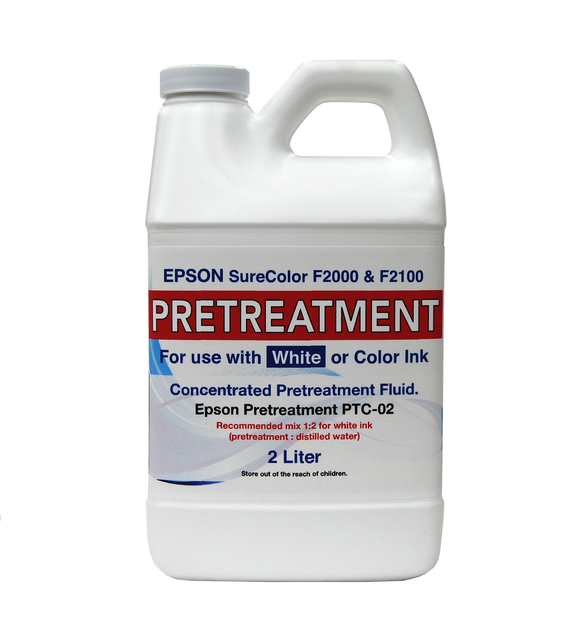 2 Liter Concentrate Epson F2000 and F2100 Garment Pretreatment - Equipment Zone Online Store