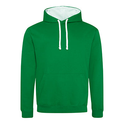 Varsity Contrast Hoodie - Kelly Green / Arctic White - Equipment Zone Online Store