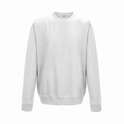 College Crew Neck Sweatshirt - Arctic White - Equipment Zone Online Store
