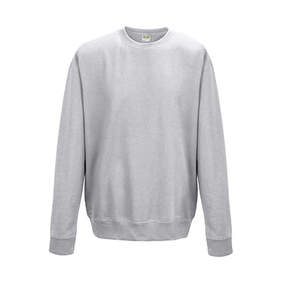 College Crew Neck Sweatshirt - Ash