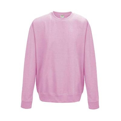 College Crew Neck Sweatshirt - Baby Pink - Equipment Zone Online Store