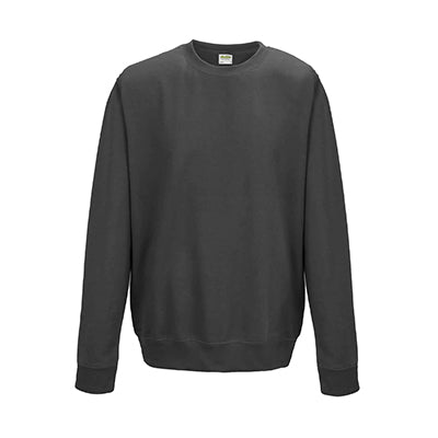 College Crew Neck Sweatshirt - Charcoal - Equipment Zone Online Store