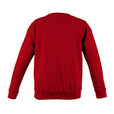 College Crew Neck Sweatshirt - Fire Red - Equipment Zone Online Store