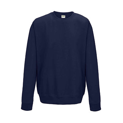 College Crew Neck Sweatshirt - French Navy - Equipment Zone Online Store
