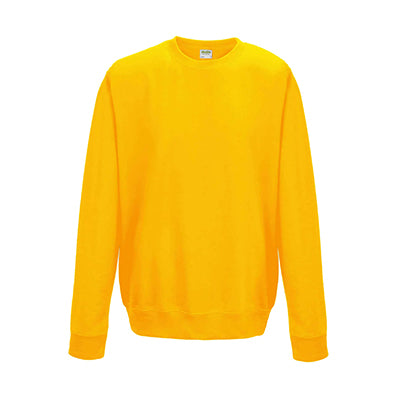 College Crew Neck Sweatshirt - Gold - Equipment Zone Online Store