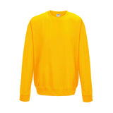 College Crew Neck Sweatshirt - Gold