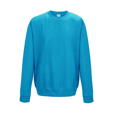 College Crew Neck Sweatshirt - Hawaiian Blue - Equipment Zone Online Store