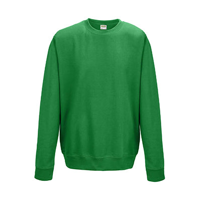 College Crew Neck Sweatshirt - Kelly Green
