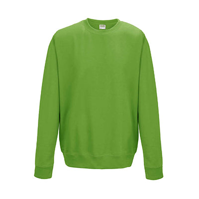 College Crew Neck Sweatshirt - Lime Green - Equipment Zone Online Store