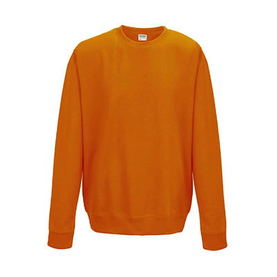 College Crew Neck Sweatshirt - Orange Crush - Equipment Zone Online Store