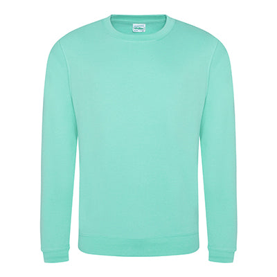 College Crew Neck Sweatshirt - Peppermint