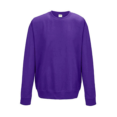 College Crew Neck Sweatshirt - Purple - Equipment Zone Online Store