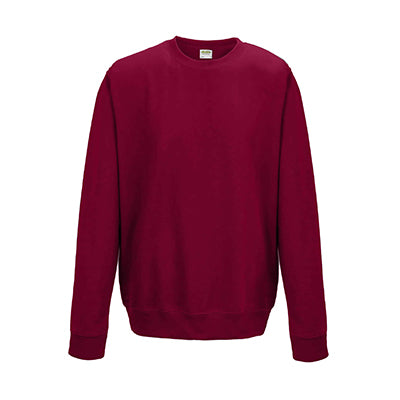 College Crew Neck Sweatshirt - Red Hot Chilli - Equipment Zone Online Store