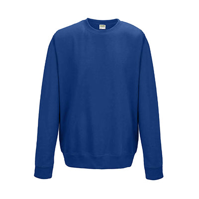 College Crew Neck Sweatshirt - Royal Blue - Equipment Zone Online Store