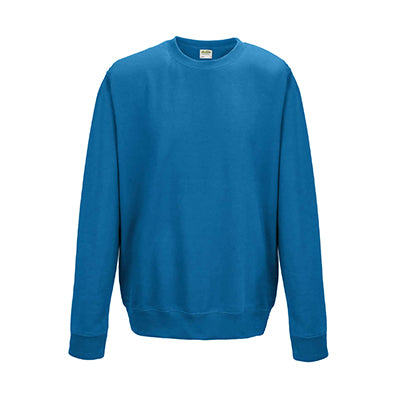 College Crew Neck Sweatshirt - Sapphire Blue - Equipment Zone Online Store