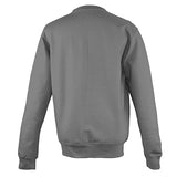 College Crew Neck Sweatshirt - Steel Grey - Equipment Zone Online Store