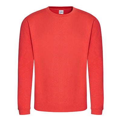 College Crew Neck Sweatshirt - Sunset Orange - Equipment Zone Online Store
