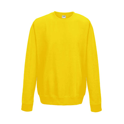 College Crew Neck Sweatshirt - Sun Yellow - Equipment Zone Online Store