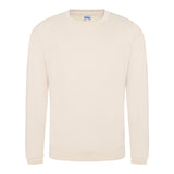 College Crew Neck Sweatshirt - Vanilla Milkshake - Equipment Zone Online Store