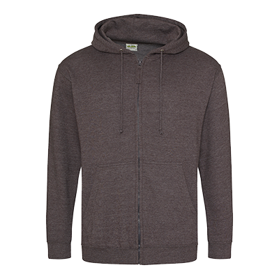 Zippered Hoodie - Charcoal - Equipment Zone Online Store