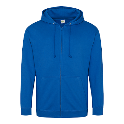 Zippered Hoodie - Royal Blue - Equipment Zone Online Store