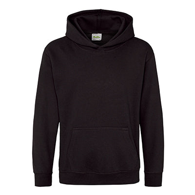 Youth College Hoodie - Jet Black