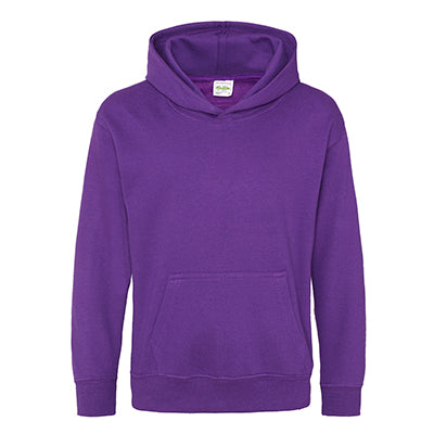 Youth College Hoodie - Purple