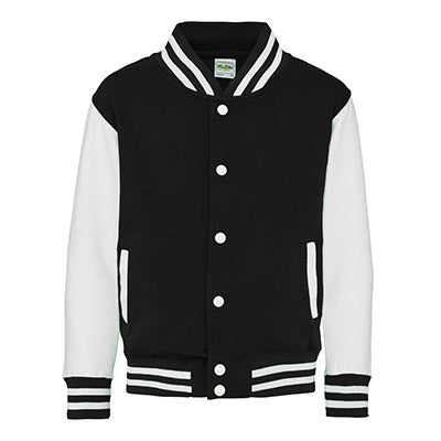 Youth Letterman - Jet Black / Arctic White - Equipment Zone Online Store