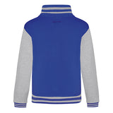 Youth Letterman - Royal Blue/Heather Grey