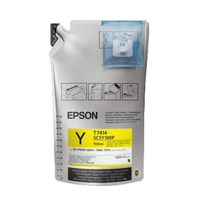 Epson UltraChrome DS Sublimation Ink Bag  Yellow 1 Liter - Equipment Zone Online Store