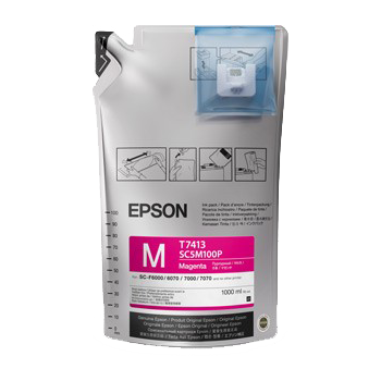 Epson UltraChrome DS Sublimation Ink Bag - Magenta 1 Liter - Equipment Zone Online Store