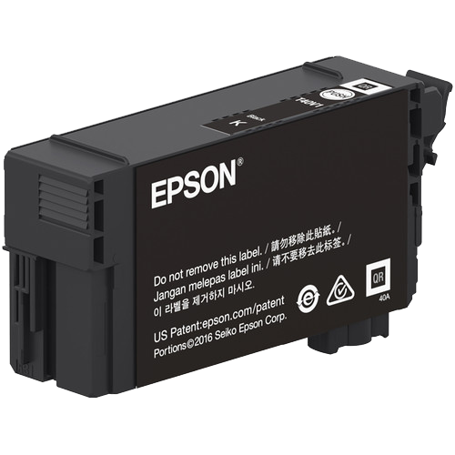 Epson T40W, 80ml Black Ink Cartridge, High Capacity - Equipment Zone Online Store