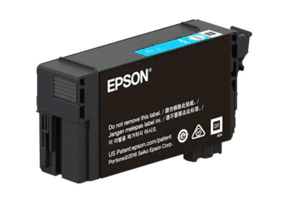 Epson T41P, 350ml Cyan Ink Cartridge, High Capacity