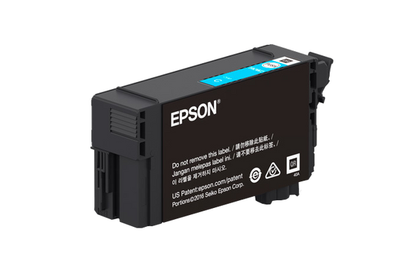 Epson T41W, 110ml Cyan Ink Cartridge
