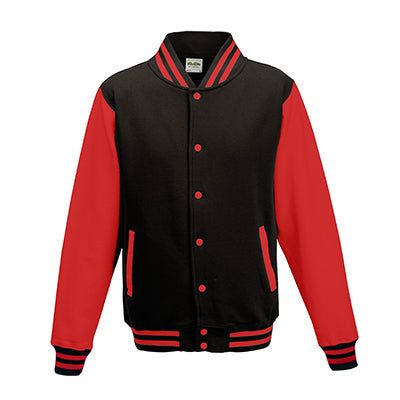 Adult Letterman - Jet Black/Fire Red - Equipment Zone Online Store