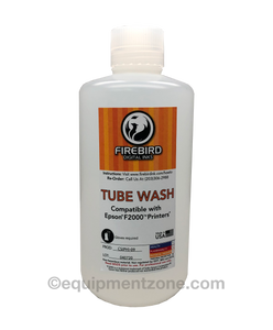 TUBE WASH SOLUTION FOR EPSON SURECOLOR F2000 DTG PRINTER - FIREBIRD BRAND - Equipment Zone Online Store