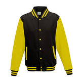 Adult Letterman - Jet Black/Sun Yellow