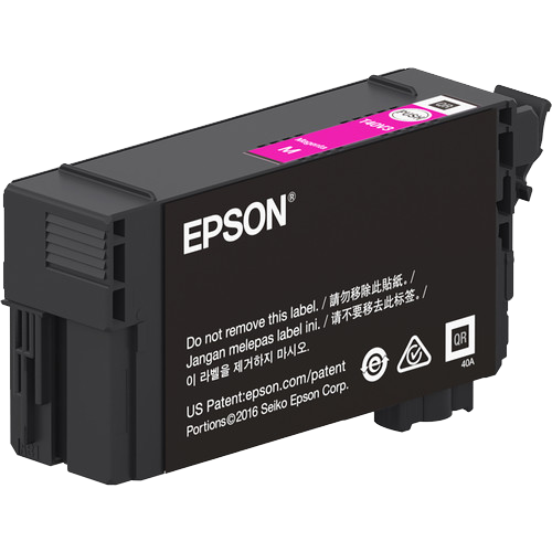 Epson T40W, 50ml Magenta Ink Cartridge, High Capacity - Equipment Zone Online Store