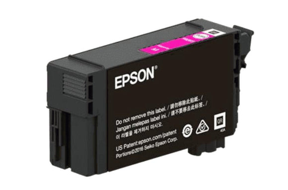 Epson T41P, 350ml Magenta Ink Cartridge, High Capacity