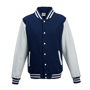 Adult Letterman - Oxford Navy/White - Equipment Zone Online Store