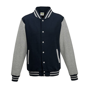 Adult Letterman - Oxford Navy/Heather Grey - Equipment Zone Online Store