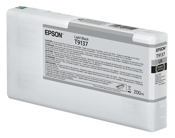Epson UltraChrome HDX Light Black Ink Cartridge - 200ML